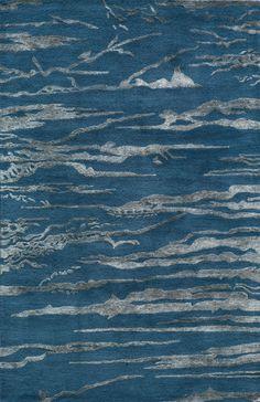 Zen Cobalt Area Rug