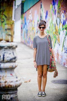 Inspiração de look para pessoas mais criativas e que valorizam o conforto de uma roupa! #dia117 #lookdodia #estilocriativo