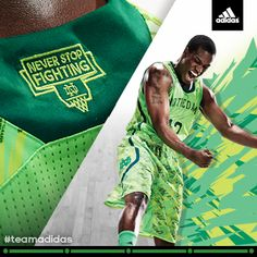 0861a3b3c Under Armour makes new and hideous uniforms for Notre Dame