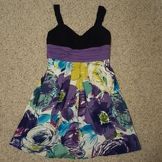 A. Byer black and purple dreas A. Byer A. Buyer  Dresses