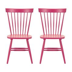 Ainsley Side Chair in Raspberry