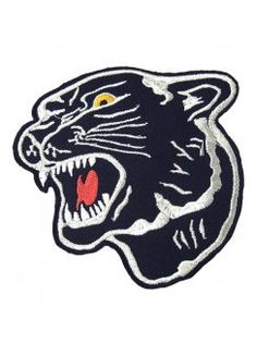 Panther Face Patch