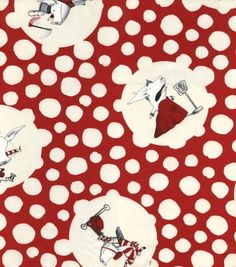 Olivia The Pig Fabric - Olivia Does Everything Well (of course)