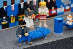 Sad Keanu in LEGO form! Haha.