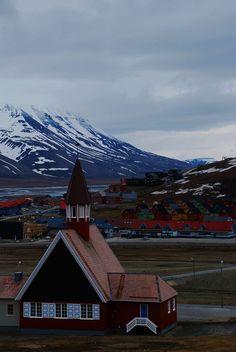 Longyearbyen view, Svalbard