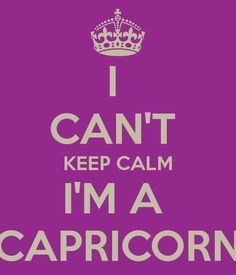 I CAN'T KEEP CALM.................................