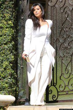 Kim Kardashian High Fashion