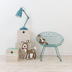 Sebra Printed Deer Cushion