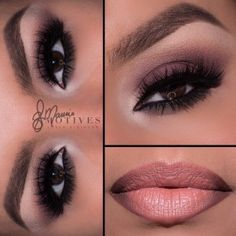 Motives My Beauty Weapon Palette Matte Chocolate Look by Ely Marino.