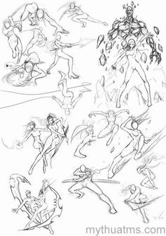 Top Tips Tricks And Methods For Your Perfect figure drawing Drawing Body Poses, Body Reference Drawing, Gesture Drawing, Drawing Reference Poses, Body Sketches, Art Drawings Sketches, Character Poses, Character Art, Fighting Drawing