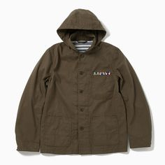 The Pool Aoyama - Military Cover-All Jacket (Olive)