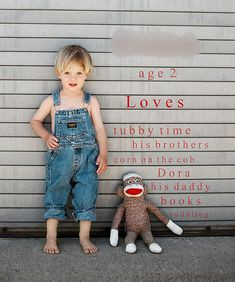 love this photo idea for kids