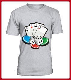 Casino Poker Vegas TShirt - Vegan shirts (*Partner-Link)