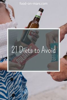 There are many bad and unhealthy diets on the internet. As a registered dietitian, I want to how you diets that work and find out how to spot healthy diets vs unhealthy dieting habits. There are 21 diet trends you should avoid. They usually work short term. You need to look for long term diet plans for weightloss success. For example: raw food diets, fletcherism diet, lemon diet, tapeworm diet, vinegar diet that are dangerous. Raw Food Recipes, Diet Recipes, Tapeworm Diet, Dietitian Humor, Cabbage Diet, Vinegar Diet, Lemon Diet, Unhealthy Diet, Diets That Work