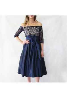 Jessica Howard Navy Lace Top Tulle Dress | Pamela Scott Navy Lace Top, Kids Boots, City Style, Barbour, Tulle Dress, Cocktail Dresses, Dresses Online, Lady, Shopping