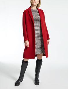 "Pure wool coat, red - ""VIGLIO"" Max Mara"