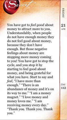 """Every day I say """"Money comes easily to me"""" and it actually does. Law Of Attraction Planner, Secret Law Of Attraction, Law Of Attraction Quotes, Manifestation Law Of Attraction, Law Of Attraction Affirmations, Manifestation Journal, Positive Thoughts, Positive Quotes, Spiritual Guidance"""