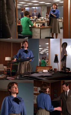 Mad Style: Peggy Olson, Part 1 Mad Men Peggy, And Peggy, Peggy Olson, Shirley Jackson, Elisabeth Moss, Mad Men Fashion, Invisible Man, Smart Outfit, My Old Kentucky Home