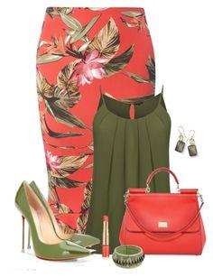 """Başlıksız #343"" by nezahat-kaya on Polyvore featuring moda, Dorothy Perkins, Dolce&Gabbana, Ippolita ve Estée Lauder"