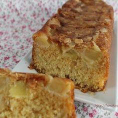 Cake aux pommes amandes effilées Cheesecakes, Banana Bread, Biscuits, Fruit, Desserts, Blog, Souvenir, Apple Strudle, Cooker Recipes