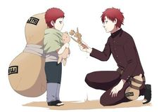 Gaara as a young boy- Naruto