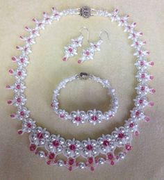 (Dream Wedding Necklace Set PART ~ Seed Bead Tutorials