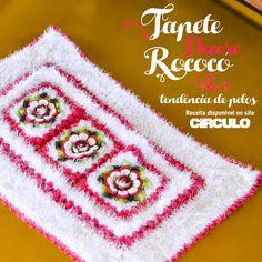 Tapete Rococó garantindo a tendência do pelo fake na decoração. Confira a receita clicando na imagem.