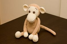 Ravelry: Big Crocheted Monkey pattern by Chimu Hamada