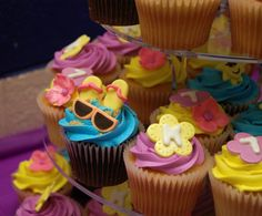 Summertime cupcakes