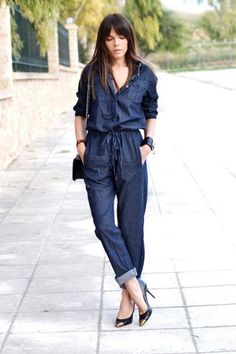 How to rock a denim jumpsuit, plus 17 other cute outfits to inspire you