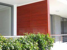 modern privacy wall