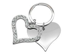 Heart Crystal Keyring in Corporate Gifts under Keyrings and Miscellaneous - Ignition