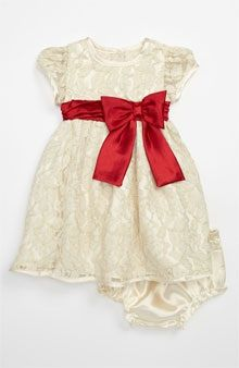 Sweet Heart Rose Lace Dress & Bloomers.