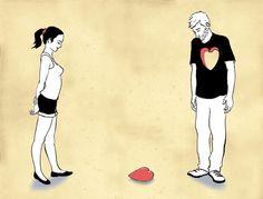 Lo peor es que esa persona no sabe lo mucho que te está hiriendo porque nunca le has confesado tus sentimientos. | 27 cosas que suceden cuando tienes un amor no correspondido