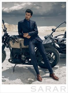 Sean O'Pry and Constance Jablonski for Sarar Fall Winter 2014