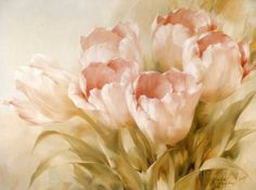 Pink Tulips Posters by Igor Levashov at AllPosters.com