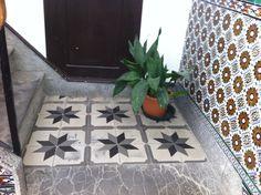 Zementfliesen, Spanien  cement tiles, spain