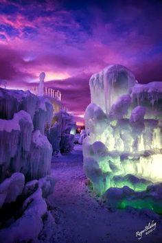 Ice Castles in Colorado