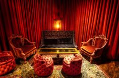 The Red Room from Twin Peaks. Thank you, Mr. David Lynch.