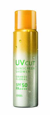 Orbis UV Cut Sunscreen Shower Orange Floral