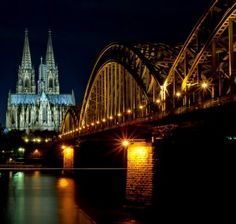 Cologne from the Rhine