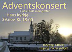 Adventskonsert med Linda Fosse House