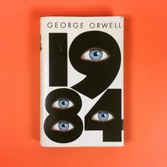 Head over to our homepage to find out why this book cover for '1984' is the favourite of @arianespanier. #bookloversfavouritecovers #counterprintbooks