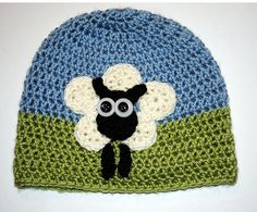 Ravelry: MamaMellie's Sheep Hat 6 Circle Sheep Hat by Jennie Claver $4