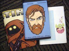 DIY Star Wars Art Book Covers