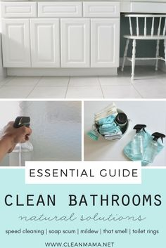 The Essential Guide - Clean Bathrooms - Clean Mama