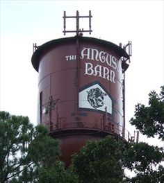 Angus Barn Water Tower, Raleigh, North Carolina