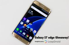 Samsung Galaxy S7 Edge  #Giveaway via #AuhYes - Hurry & Enter