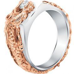 Solataire Dragon Diamond Ring 1 http://www.meysonjewellery.com