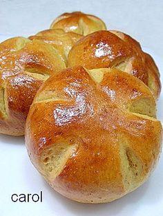 Carol 自在生活  : 蜜薯乳酪麵包